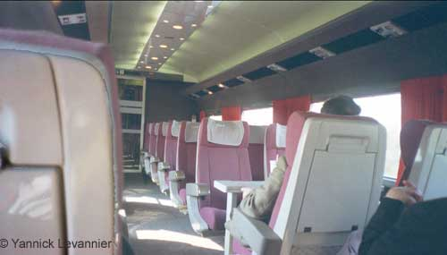 Tgv int rieur for Interieur tgv